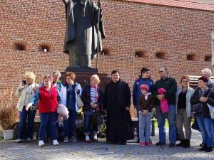 Pielgrzymka grupy Stowarzyszenie Rodzin Katolickich do sanktuarium w Łańcucie i Leżajsku 6.10.2018 r.